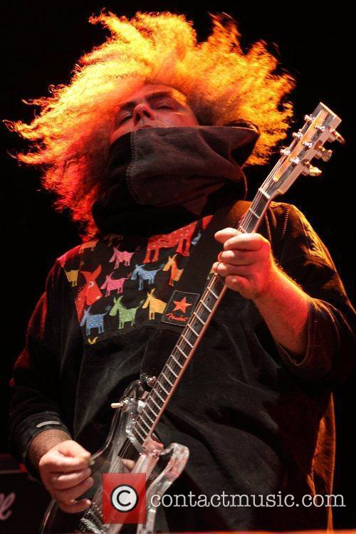 The Melvins perform at the 2011 Soundwave Festival...