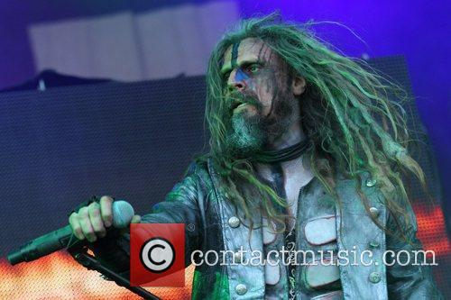Rob Zombie performs at the 2011 Soundwave Festival...