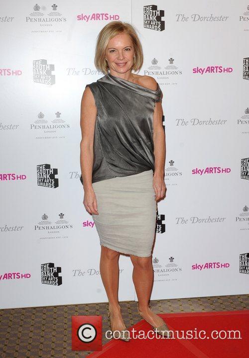 Mariella Frostrup South Bank Sky Arts Awards, held...