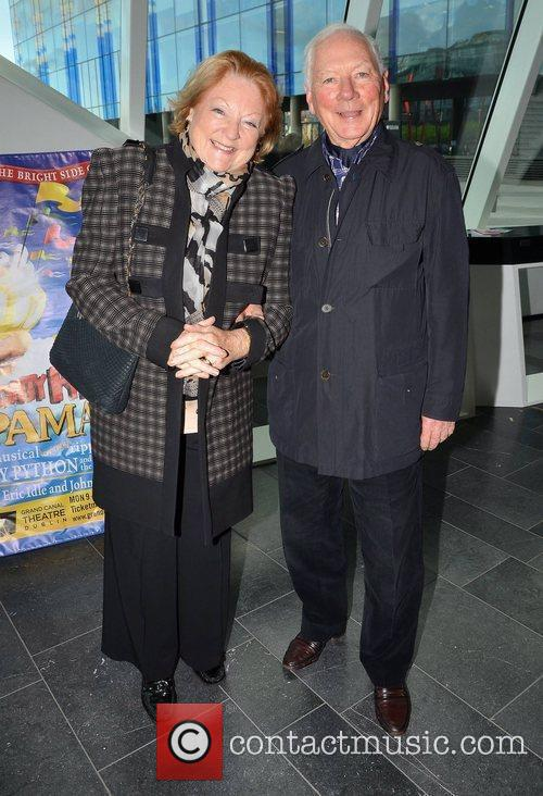 Kathleen Watkins and Gay Byrne Opening Night of...
