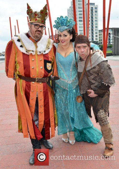 Phill Jupitus, Jodie Prenger, and Todd Carty Photocall...