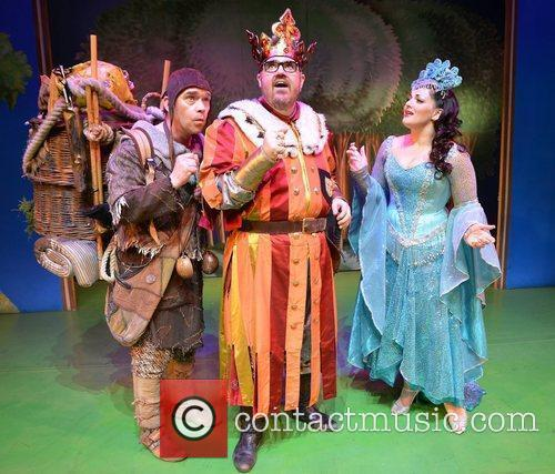 Photocall for Monty Python's 'Spamalot' at The Grand...