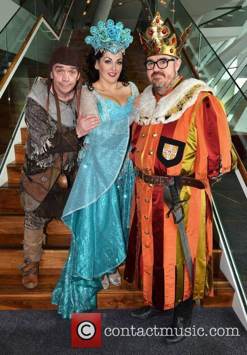 Todd Carty, Phill Jupitus, and Jodie Prenger Photocall...