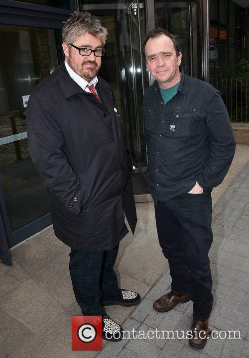 Phill Jupitus and Todd Carty Photocall for Monty...