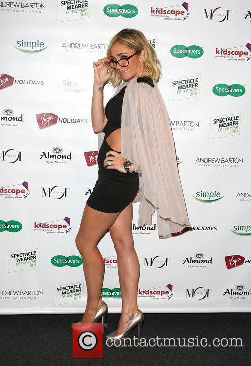 Jenny Frost Specsavers Spectacle Wearer of the Year...