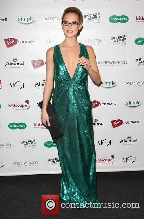 Kara Tointon Specsavers Spectacle Wearer of the Year...