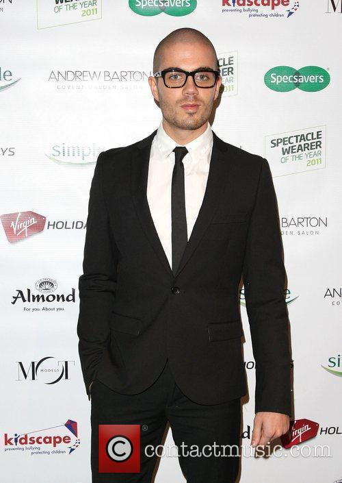 Max George Specsavers Spectacle Wearer of the Year...