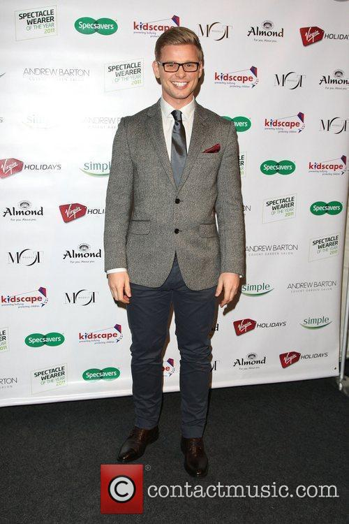 Jeff Brazier Specsavers Spectacle Wearer of the Year...