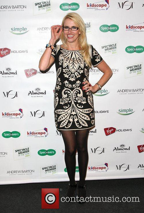 Nancy Sorrell Specsavers Spectacle Wearer of the Year...