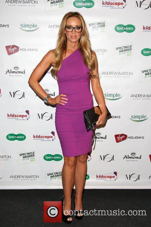 Lauren Pope Spectacle Wearer of the Year Awards...