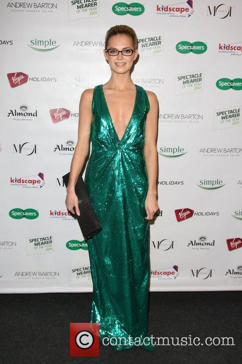 Kara Tointon Spectacle Wearer of the Year Awards...