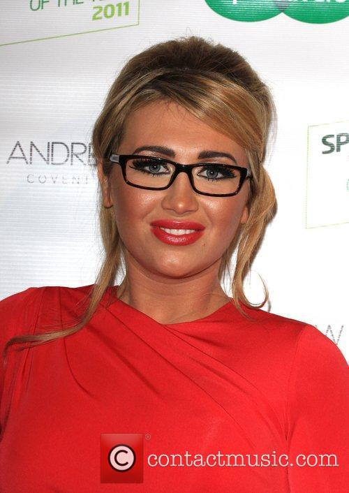 Lauren Goodger Specsavers Spectacle Wearer of the Year...