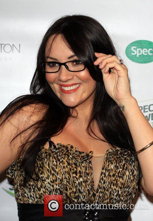 Martine McCutcheon Specsavers Spectacle Wearer of the Year...