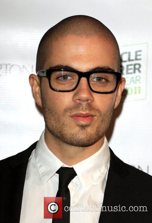 Max George from The Wanted Specsavers Spectacle Wearer...