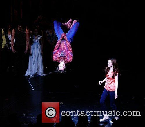 Reeve Carney, Jennifer Damiano and cast Opening night...
