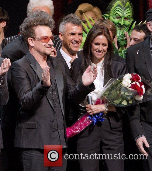 Bono, Julie Taymor 'Spider-Man: Turn Off The Dark'...