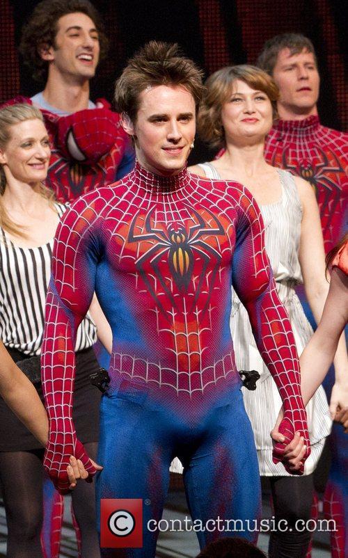 Reeve Carney 'Spider-Man: Turn Off The Dark' Broadway...