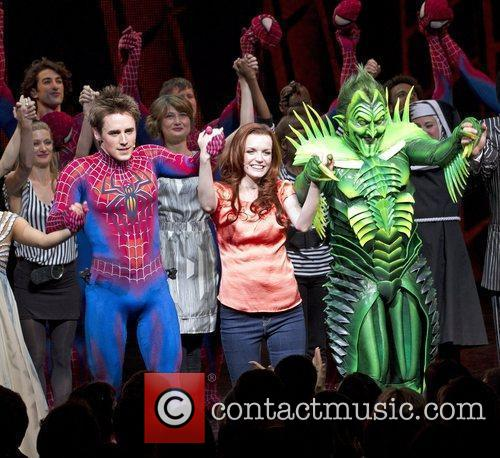 Reeve Carney, Jennifer Damiano  'Spider-Man: Turn Off...