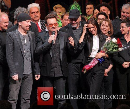 The Edge, Bono, Julie Taymor 'Spider-Man: Turn Off...
