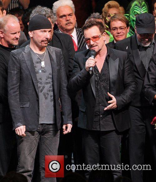 The Edge, Bono, 'Spider-Man: Turn Off The Dark'...