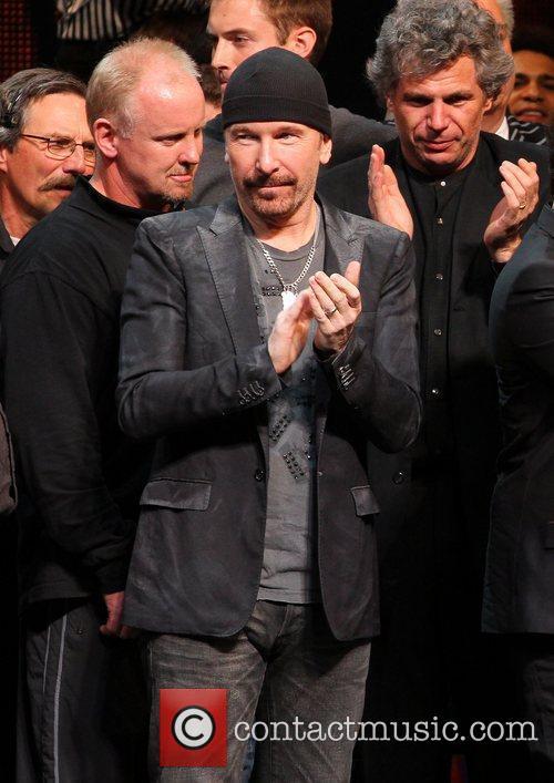 The Edge 'Spider-Man: Turn Off The Dark' Broadway...
