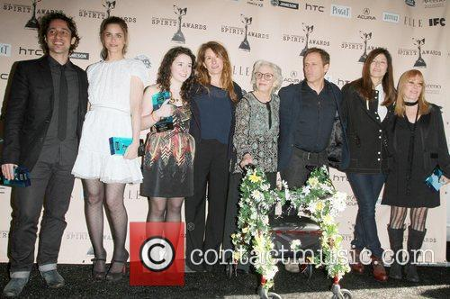 Cast of Please Give The 2011 Film Independent...