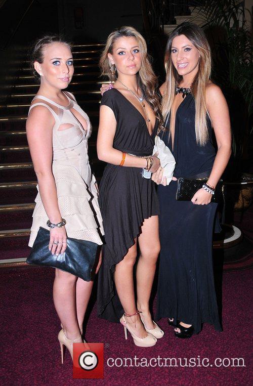Chloe Green, guest and Gabriella Ellis,  at...