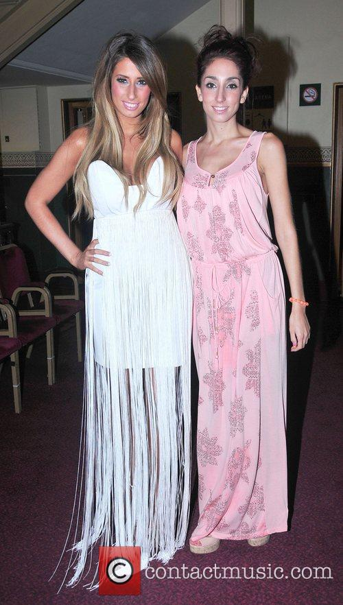 Stacey Solomon and her sister Gemma Solomon,...