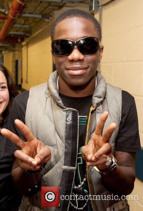 Tinchy Stryder,  at the Spirit Of London...