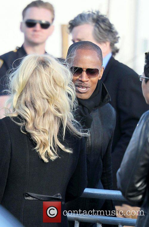 Jamie Fox The 2011 Film Independent Spirit awards...