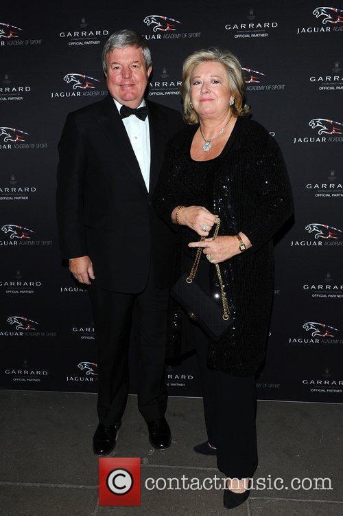 Sir Keith Mills, Wife Jaguar Academy of Sport...