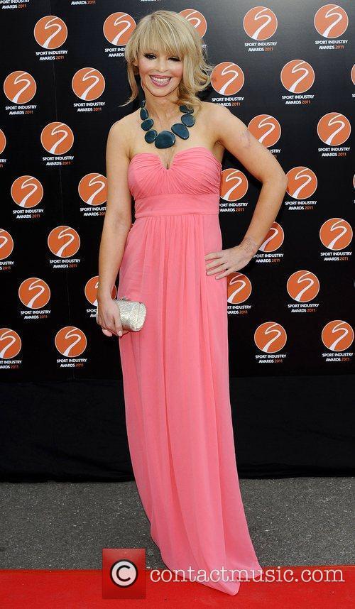 Katie Piper Sport Industry Awards at Battersea Evolution....