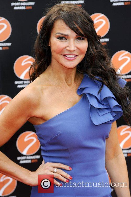 Lizzie Cundy Sport Industry Awards at Battersea Evolution....