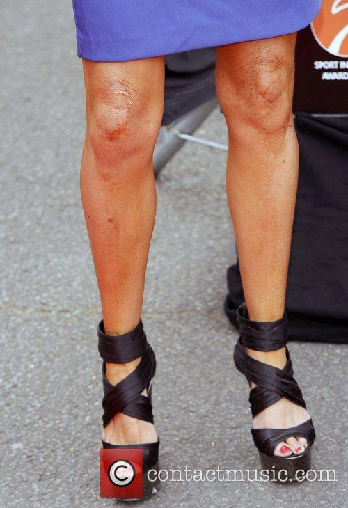 Lizzie Cundy (With Grazed Knees ?) Sport Industry...