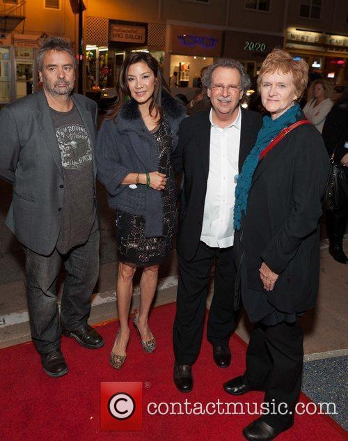 Luc Besson and Michelle Yeoh 9