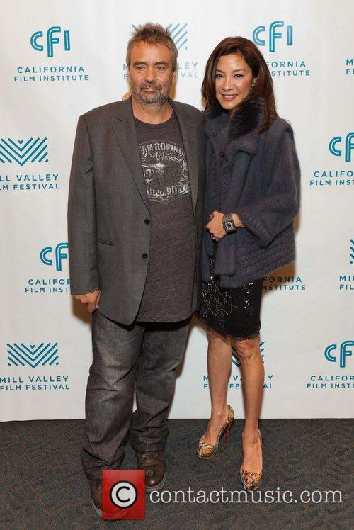 Luc Besson and Michelle Yeoh 4