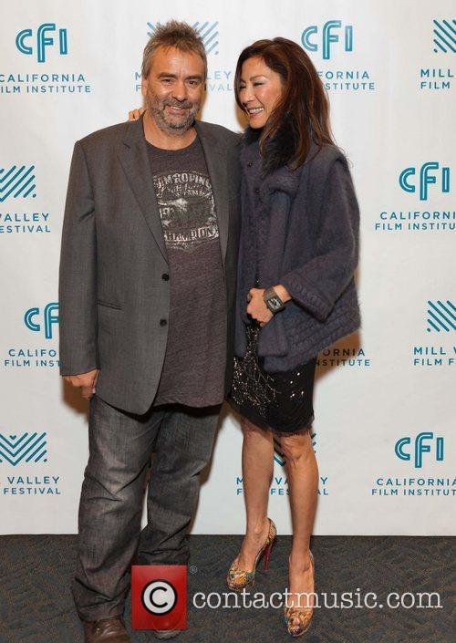 Luc Besson and Michelle Yeoh 5
