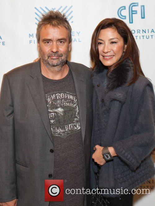 Luc Besson and Michelle Yeoh 7