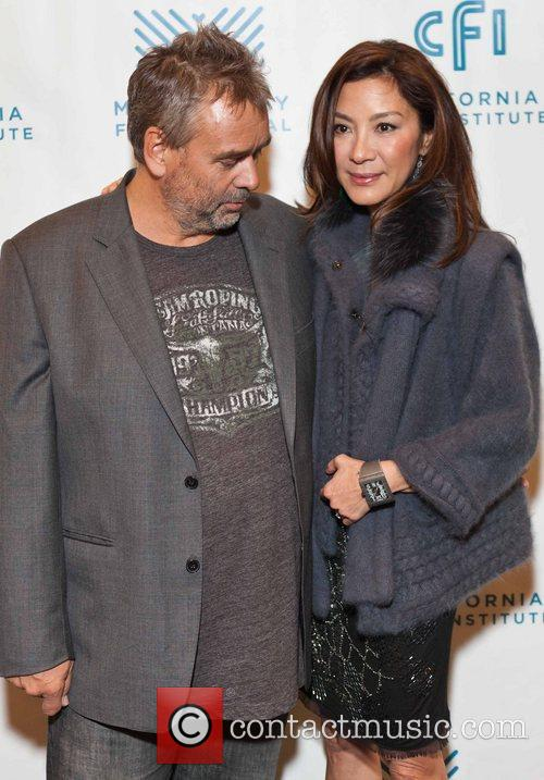 Luc Besson and Michelle Yeoh