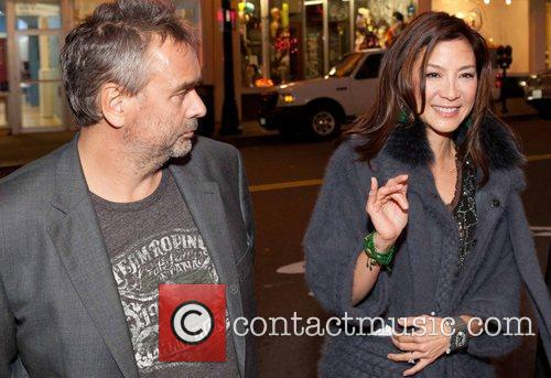 Luc Besson and Michelle Yeoh 10