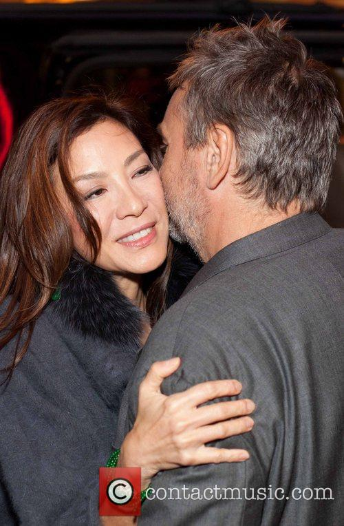 Michelle Yeoh and Luc Besson 1