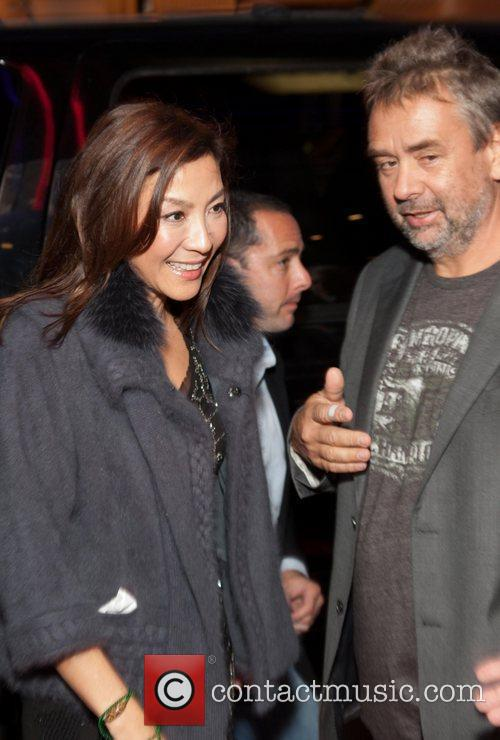 Michelle Yeoh and Luc Besson 2