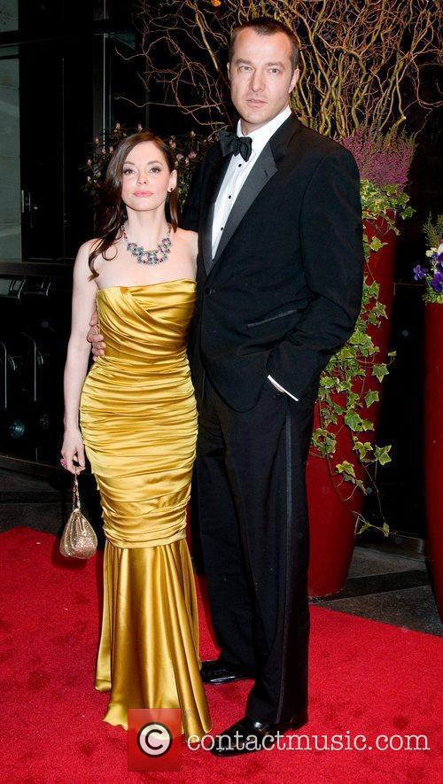 Rose McGowan and Rob Adams 8th Annual New...