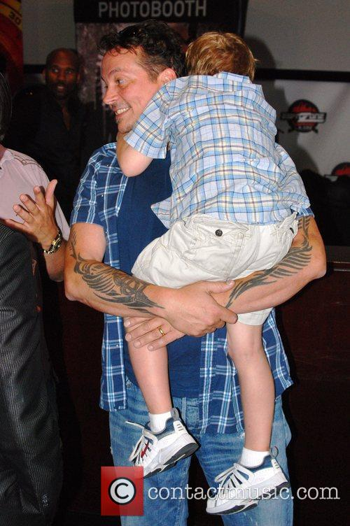 Kevin Eastman  'Spy Kids 4D' afterparty held...