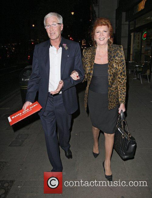 Paul O`Grady and Cilla Black in St Martins...