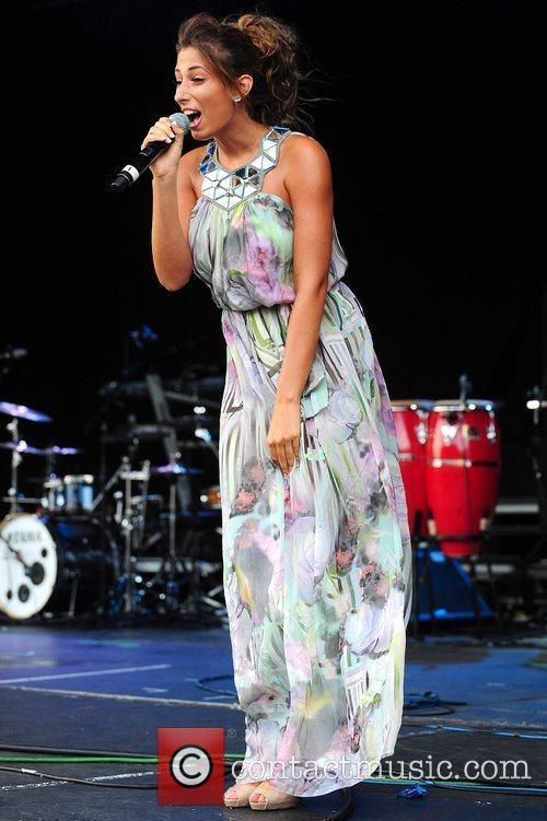 Stacey Solomon performs at Leeds castle Leeds, England
