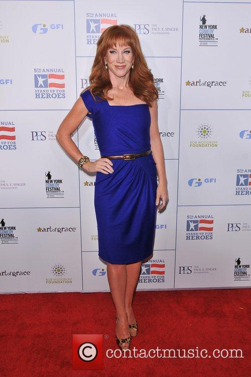 Kathy Griffin 2011 Stand Up For Heroes at...