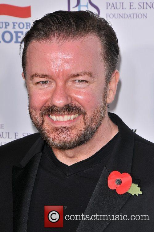 Ricky Gervais and Beacon Theatre 4