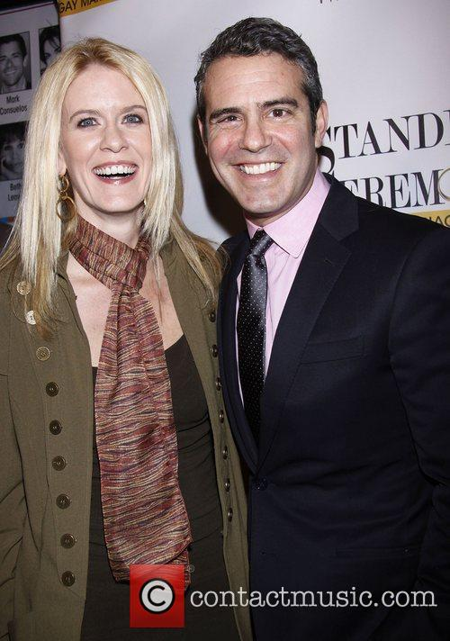 Alex McCord and Andy Cohen  Opening Night...