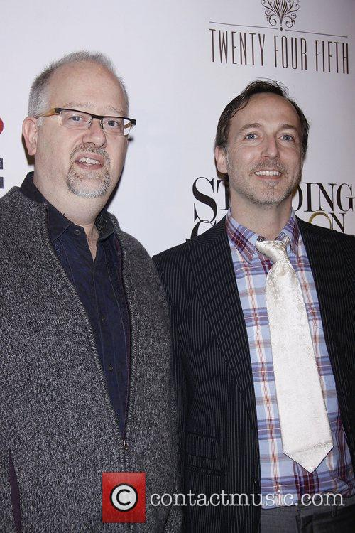 Doug Wright and David Clement  Opening Night...